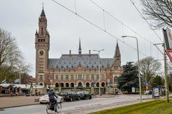 O palácio da paz - Seat do Corte Internacional de Justiça Imagens de Stock Royalty Free