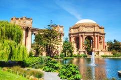 O palácio das belas artes em San Francisco Imagem de Stock Royalty Free