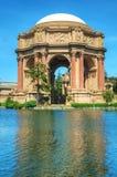 O palácio das belas artes em San Francisco Foto de Stock