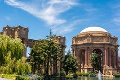 O palácio das belas artes, San Francisco Imagem de Stock