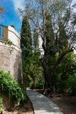 O palácio de Achilleion, Corfu, Grécia imagens de stock royalty free