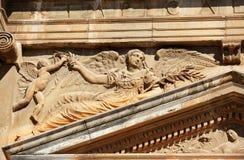 O palácio de Charles V, Granada, Espanha Imagens de Stock