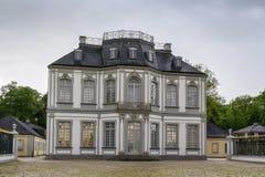 O palácio de Falkenlust, Bruhl, Alemanha Fotografia de Stock