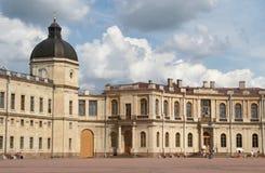 O palácio de Gatchina Foto de Stock