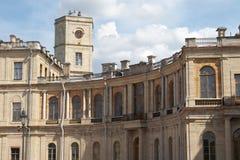 O palácio de Gatchina Fotos de Stock Royalty Free