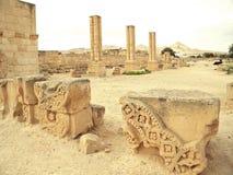 O palácio de Hisham fotografia de stock