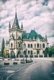 O palácio de Jakab na cidade de Kosice, Eslováquia, filtro análogo fotografia de stock royalty free
