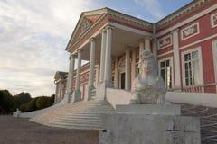 O palácio de Kuskovo fotos de stock royalty free