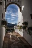 O palácio de Mondragon Foto de Stock Royalty Free