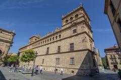 O palácio de Monterrey de Salamanca, Espanha imagens de stock royalty free