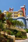 O palácio de Pena Sintra portugal fotos de stock royalty free