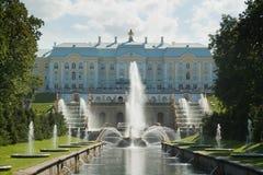 O palácio de Peter 1 Imagens de Stock