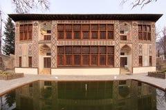 O palácio de Shaki Khans em Shaki, Azerbaijão Fotos de Stock