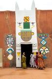 O palácio de Sultanem Zinder, Niger Fotos de Stock