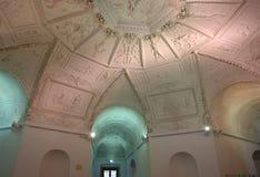O palácio de verão real da estrela (Letohradek Hvezda), interior Fotografia de Stock