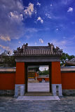 O palácio de verão velho (Yuan Ming Yuan) Imagem de Stock