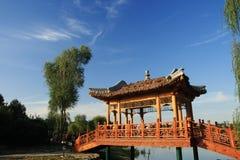O palácio de verão velho (Yuan Ming Yuan) Fotografia de Stock