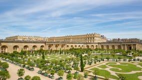 O palácio de Versalhes e de jardim, França video estoque