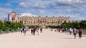 O palácio de Versalhes perto de Paris imagens de stock royalty free