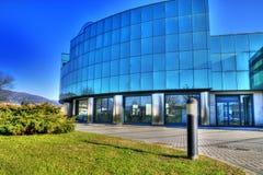 O palácio de vidro Fotografia de Stock