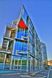 O palácio de vidro Imagem de Stock Royalty Free