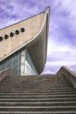 O palácio de Vilnius dos esportes e dos concertos Fotos de Stock Royalty Free