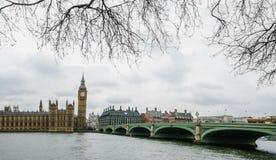 Palácio de westminster Londres Imagens de Stock