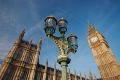 O palácio de Westminster Foto de Stock Royalty Free