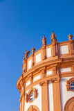 O palácio de Wiesbaden Biebrich Imagem de Stock Royalty Free