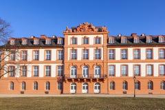 O palácio de Wiesbaden Biebrich Foto de Stock
