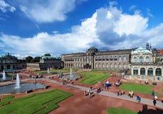 O palácio de Zwinger em Dresden, Alemanha Fotografia de Stock