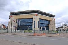 O palácio do basquetebol em Kazan imagem de stock