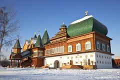 O palácio do czar Alexei Mikhailovich. Kolomenskoye. Moscovo Imagens de Stock Royalty Free