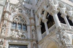 O palácio do doge Imagem de Stock