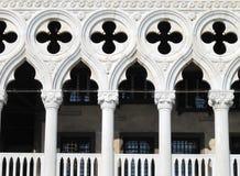 O palácio do doge de Veneza no quadrado de St Mark em Veneza fotos de stock royalty free