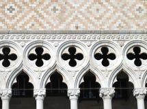 O palácio do Doge de Veneza em Veneza, Italia imagem de stock