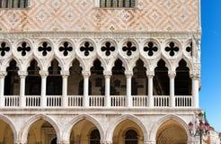 O palácio do doge - Veneza Itália fotos de stock