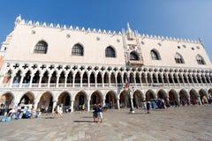 O palácio do doge - Veneza Itália/palácio do doge (Palazzo Ducale fotos de stock