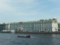 O palácio do inverno St Petersburg Rússia Foto de Stock Royalty Free