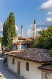 O palácio do khan em Bakhchisaray Imagem de Stock
