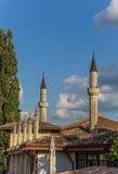 O palácio do khan em Bakhchisaray Imagem de Stock Royalty Free