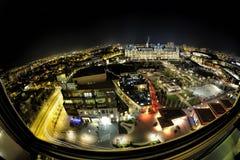 O palácio do marco da cultura em Romênia Fotos de Stock Royalty Free
