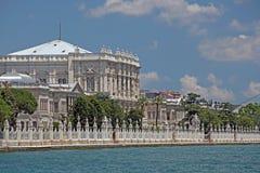 O palácio do otomano de Dolmabahce, imagens de stock