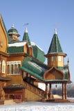 O palácio do Tsar Alexei Mikhailovich. Kolomenskoye. Moscovo Foto de Stock Royalty Free