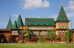 O palácio do Tsar Alexei Mikhailovich. Kolomenskoye. Moscovo Imagens de Stock Royalty Free