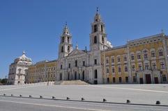 O palácio e o convento imagens de stock royalty free