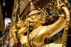 O palácio e o templo grandes de Emerald Buddha Imagem de Stock