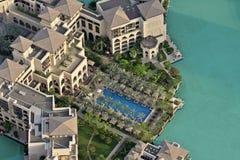 O palácio em Dubai Fotos de Stock Royalty Free