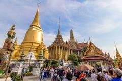 O palácio grande, Banguecoque Fotos de Stock Royalty Free