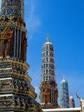 O palácio grande, Banguecoque, Tailândia Fotografia de Stock